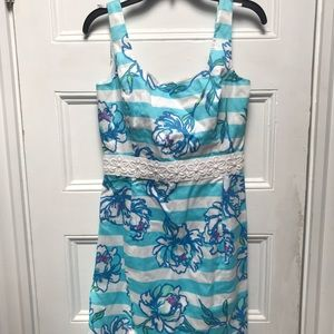 Lilly Pulitzer tossing the line dress 6